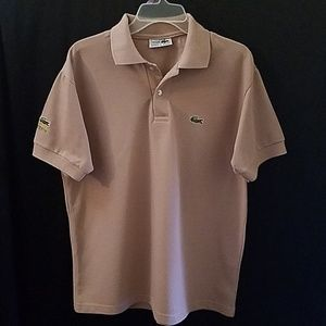 Lacoste Chemise Polo Short Sleeves Men's L